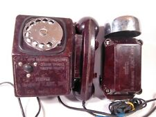 Soviet vintage telephone mine telephone. Original 1986. USSR lot