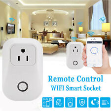 Smart Power Socket Wifi Wireless Remote Control Timer Switch Outlet US Plug