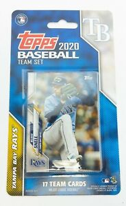 2020 Topps Baseball Tampa Bay Rays Team Set