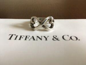 TIFFANY & Co. 925 Paloma Picasso Double Heart Ring