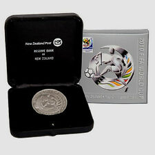 2010 FIFA 1 OZ SILVER PROOF Football World Cup Soccer !!!
