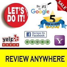 ******Lets Do It ******Published Your Review Online-- Quick Service