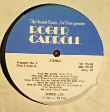 RADIO SHOW: ROGER CARROLL SHOW #39 1&2 ABBA, LOBO, BLUE SWEDE, CHER, PERCY FAITH