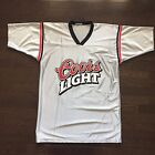 Vintage Coors Light Football Jersey #24 The Silver Bullet Mens Size M