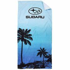 Official Subaru Genuine Breezy Beach Towel New Forester Wrx STi Impreza Outback