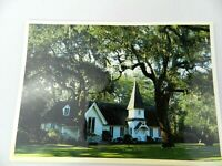 Vintage Postcard Georgia GA Christ Church St Simons Island Card View