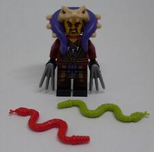 Lego Ninjago - Chen Figur mit Zubehör Waffen Krallen - Figuren Schlangen Neu