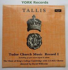 ZRG 5436 - TALLIS - Tudor Church Music Record 1 KING'S COLLEGE - Ex LP Record