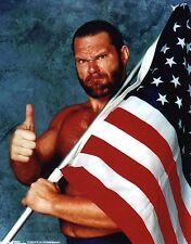 "HACKSAW JIM DUGGAN PHOTO WCW WRESTLING 8x10"" PROMO wwf tna wwe"