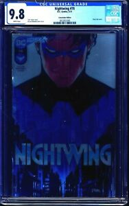 Nightwing #78 CONVENTION SILVER FOIL VARIANT CGC 9.8 1st Melinda Zucco NM/MT