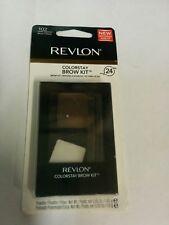 Revlon ColorStay Brow Kit, #102 Dark Brown - Minor Defect