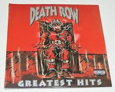 "DEATH ROW GREATEST HITS Lp 12""x4 RECORDS ORIG DR DRE SNOOP DOGG 2PAC SEALED RARE"