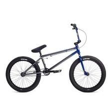 "2019 STOLEN BRAND STEREO 20.75 BLUE GREY FADE BMX BIKE 20.25"" S&M FIT BIKES"