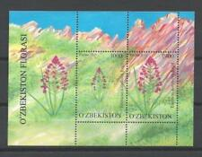 Uzbekistan 2011 Flowers Bloc New 1st Choice