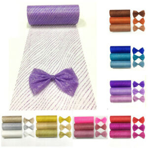 Deco Mesh Rolls 15cm x 10yd Roll-26 colours for Wreaths Swags Bows Nice