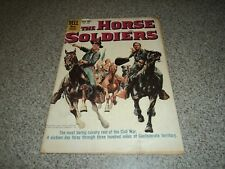 THE HORSE SOLDIERS FOUR COLOR 1048 MOVIE CLASSIC