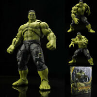 Super Hero Hulk SHF Action S.H. Figuarts Avengers PVC Figure Toy New Box Gift
