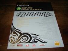 LOFOFORA -- PUBLICITE LE FOND ET LA FORME !!! 2003 !!!!