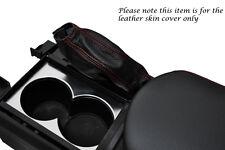 RED STITCH FITS NISSAN GT-R R35 2009-2013 LEATHER HANDBRAKE GAITER ONLY