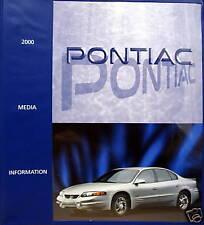 2000 Pontiac Full-Line press kit