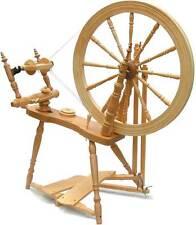Kromski Symphony Clear Spinning Wheel W/Jumbo Flyer Kit FREE Shipping