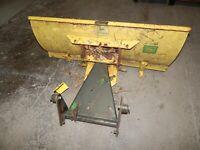 "John Deere 210/212 Garden Tractor (42"") Snow Blade Attachment-USED"