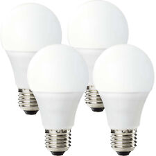 4x WiFi Colour Change LED Light Bulb –9W E27 Warm Cool White–SMART Dimmable Lamp