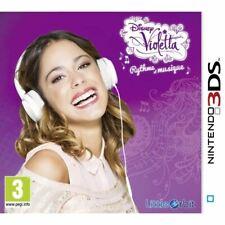 Jeu Nintendo DS 3DS Disney Violetta Rythme et Musique Little Orbit