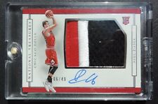 2016-17 National Treasures Paul Zipser Rookie Patch Auto 6/49 Chicago Bulls RPA