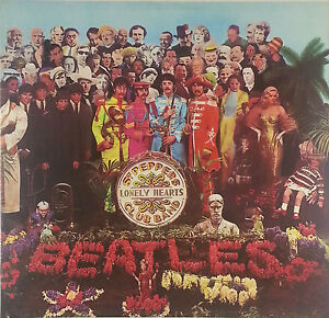 The Beatles Dice. Peppers Lonely Heartclub 12 Pollici LP K98 Washed - Cleaned