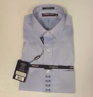NWT Men's Kirkland Signature Tailored Fit Non-Iron Dress Shirt - Spread Collar