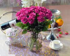 Neu 10 Stück Künstliche Blumen Rose Blumenstrauß Hochzeit Haus Dekoration