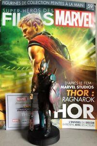 Marvel Movie Collection #59 Thor Figurine (Thor: Ragnarok) Eaglemoss Maga French