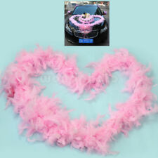 Practical 2M Fluffy Feather Boa Strip Fancy Make Up Party Wedding Xmas Decor