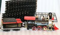 Vintage 1986 New Bright Ind. Lot G Scale TRAIN LOT, 21 PCS ~ see details
