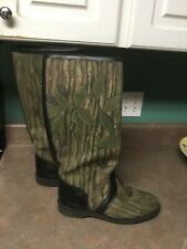 Men's Chippewa Original 25101 Pull On Hunting Boots Camouflage Size 10D (CON29)