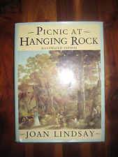 Picnic at Hanging Rock Illustrated Edition by Joan Lindsay HCDJ 1987