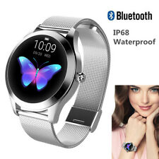 Women Girls Bluetooth Smart Watch Bracelet Wristband Sport Watch for Cell Phone