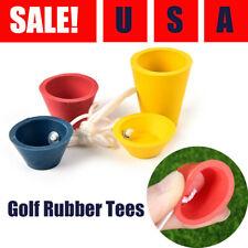 Golf Rubber Tees Winter Tee Set Range Practice Trainning Ball Holder US Stock