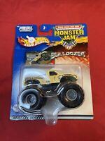 Mattel Hot Wheels Monster Jam Bulldozer Monster Truck 1:64 Die Cast