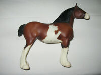 Breyer Horses North Umberland Flower Girl Clydesdale Mare Bay Pinto #775