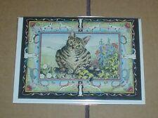 Lovely Tabby Cat Blank Card