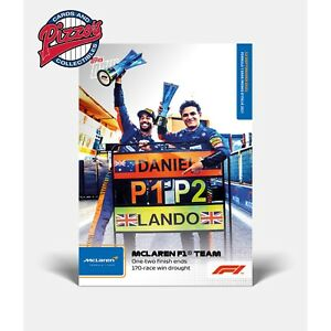 Ricciardo & Norris McLaren Team Wins 1 2 Formula 1 F1 TOPPS NOW Card #52 Presale