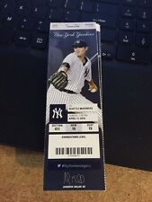 2016 NEW YORK YANKEES VS MARINERS 4/17 TICKET STUB TANAKA WIN A-ROD HR #589