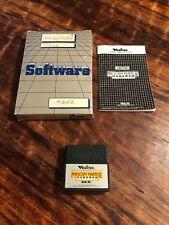 Melody Master W / Manual & Box - Vectrex Game Cartridge #3602 Free Shipping