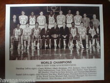 New York Knickerbockers 1969-70 NBA Champs Team Photo