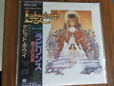 DAVID BOWIE LABYRINTH Soundtrack JAPAN 1ST PRESS VINYL LP  EYS-91170 s5082 w OBI