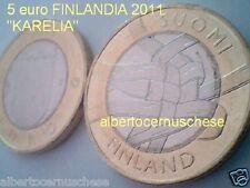 5 euro 2011 fdc FINLANDIA KARELIA Finland FINLANDE Suomi Finnland Финляндия