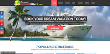 TRAVEL Booking Turnkey Website Business - EASY $1-4 per Lead - MAKE MONEY ONLINE