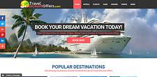TRAVEL Booking Turnkey Website Business - EASY $1-4 per Lead - MAKE MONEY ONLINE